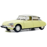 CITROËN DS, 1972, yellow/white roof