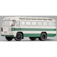 PAZ 652B, 1967, white/green stripe