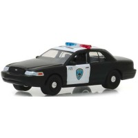 2008 Ford Crown Victoria Police Interceptor Oakland California Police *Hot Pursuit Series 30*, black/white