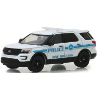 2016 Ford Police Interceptor Utility New Orleans Louisiana Police, *Hot Pursuit Series 30*, white/blue