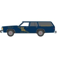 1987 Ford LTD Crown Victoria Wagon Louisiana State Police Crime Scene Investigation Crime Lab *Hot Pursuit Series 32*, blue