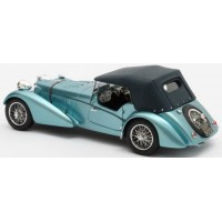 BUGATTI T57SC Sports Tourer closed Vanden Plas (#57541) closed, 1938, met.blue