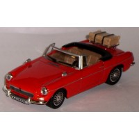 MG B Convertible, red