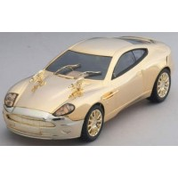 Aston M Gold Plated James Bond