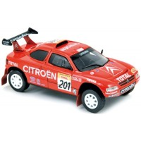CITROËN ZX ParisDakar'96 #201, winner Lartigues