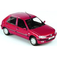 PEUGEOT 106 Citadine 5-doors, 2002, red