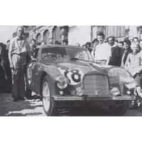 ASTON MARTIN DB2 LeMans'51 #28, 10th N.Mann / M.Morris Goodall