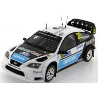FORD FOCUS RS 07 WRC #20 M.Rantanen Rally Filand 2008 (special decoration)