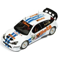 FORD Focus RS 07 WRC Rally Monza'07 #46, winner V.Rossi / C.Cassina