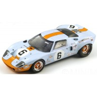 FORD GT40 LeMans'69 #6, winner Ickx / Oliver