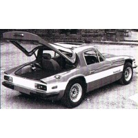 TVR Taimar, 1978, argent/rouge