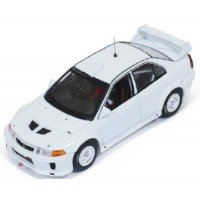 MITSUBISHI Lancer Evo5 Rally Spec, 1998, white (includes 2 set of wheels and tyres)
