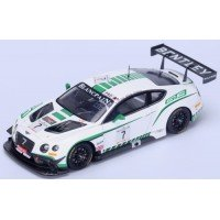 BENTLEY Continental GT3 24h Spa'15 #7, G.Smith / A.Meyrick / S.Kane (limited 300)