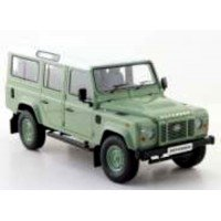 LAND ROVER Defender 110 (lhd), green/white