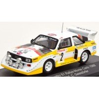 AUDI Quattro Sport (E2) Rally MonteCarlo'86 #2, Röhrl / Geistdörfer (with additionnal headlights)