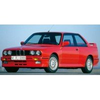 BMW M3 (E30), 1986, brillant red